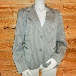 Worthington Pin Striped Blazer